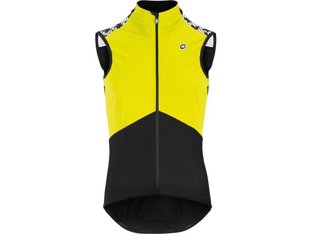 ASSOS Mille GT Lente-/Herfst Airblock Vest Heren, fluo yellow